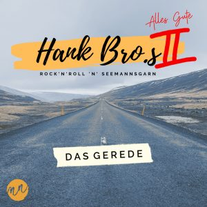 """Cover """"Das Gerede"""" in blau-grauen Tönen"""